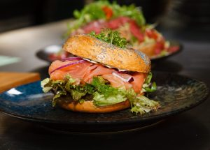 Bagel Gerookte Zalm – Lunch