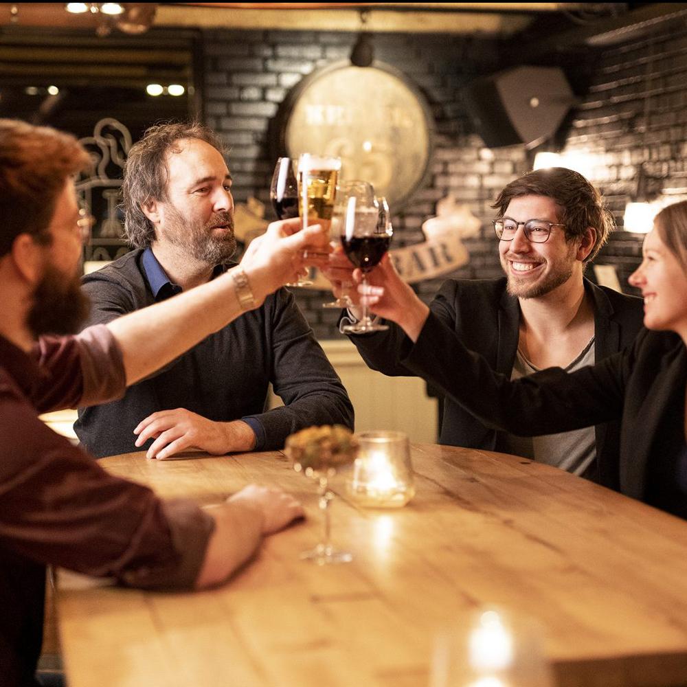 Cocktailbar in de kelder van Roast