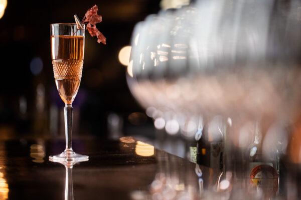 Cocktail in flut